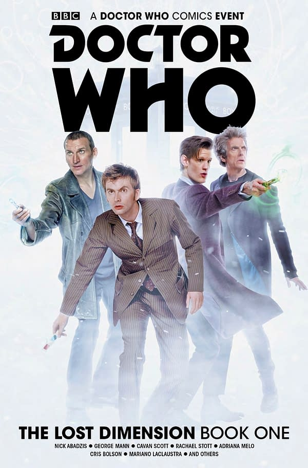 Titan Releases New Doctor Who: Lost Dimensions Trailer Ahead of Vol. 1 TPB Release