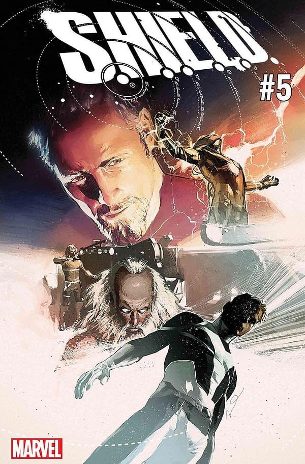 Finally… Jonathan Hickman and Dustin Weaver's SHIELD #5 and #6 for May 2018