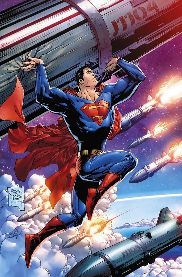 Tony S. Daniel and Nicola Scott's Retailer Exclusive Covers for Action Comics #1000