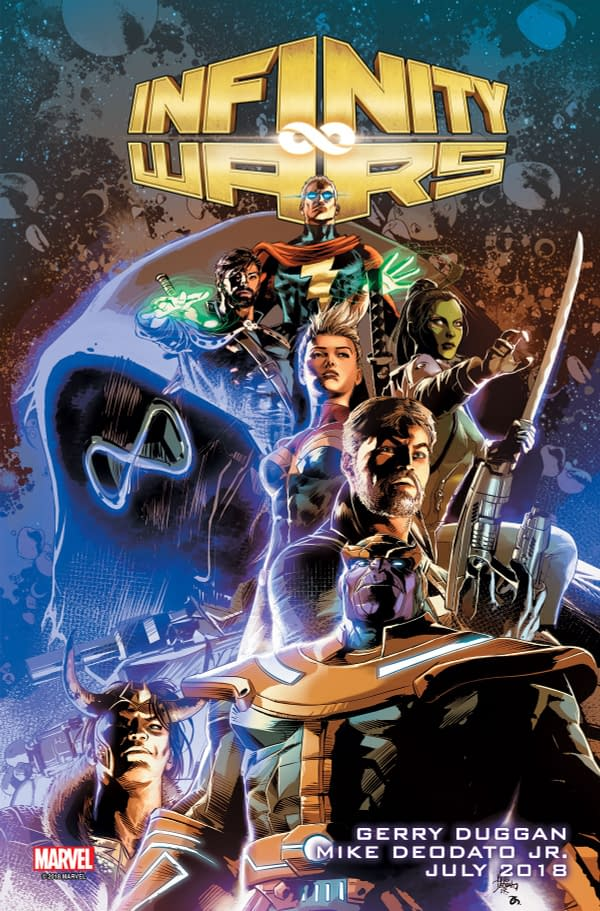 Infinity Wars: Marvel's Next Super-Mega-Crossover Event by Gerry Duggan and Mike Deodato Jr.