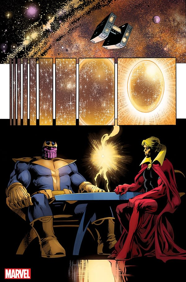 Thanos to Fight His Own Future in Thanos: The Infinity Conflict by Jim Starlin and Alan Davis