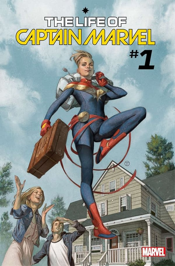 "Margaret Stohl and Carlos Pacheco Retell Carol Danvers Origins That ""Change Everything"" in The Life Of Captain Marvel #1 in July"