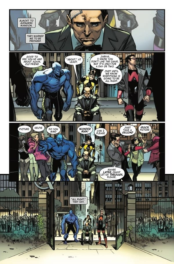 No More… Jarvis The Butler? Avengers #690 Preview