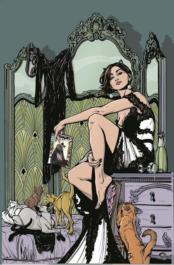 Joëlle Jones to Write and Draw an Ongoing Catwoman Comic