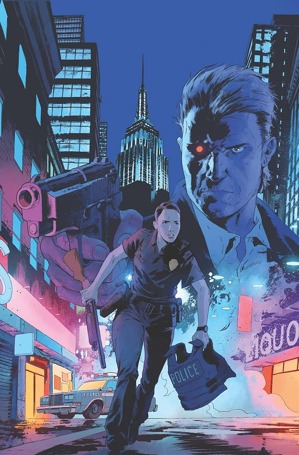 Brian Wood Writes Terminator Comics for Dark Horse, Changing the Past…