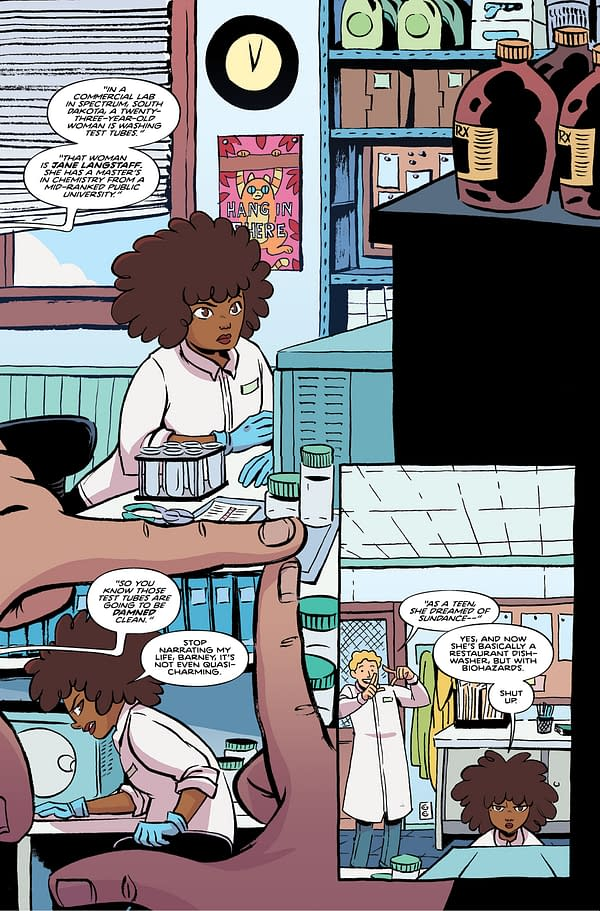 Get Your First Look Inside John Allison and Christine Larsen's 'By Night' #1
