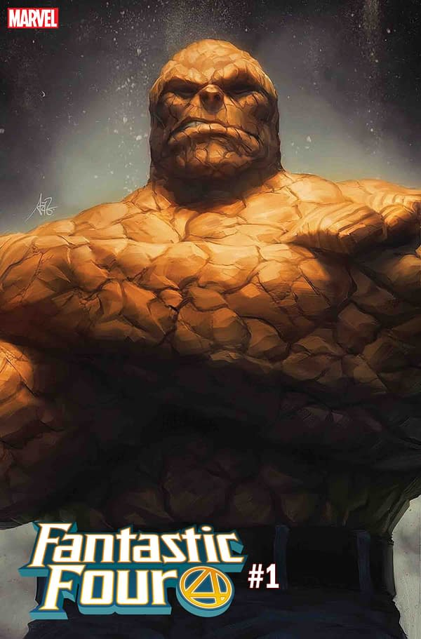 """Stanley """"Artgerm"""" Lau's First 2 Covers for Fantastic Four #1"""