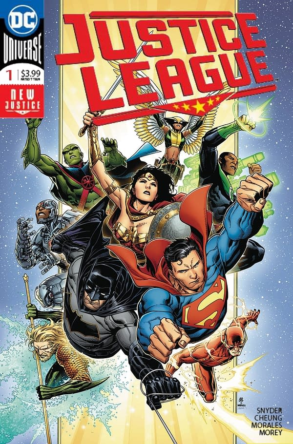 Justice League #1 Tops Advance Reorders