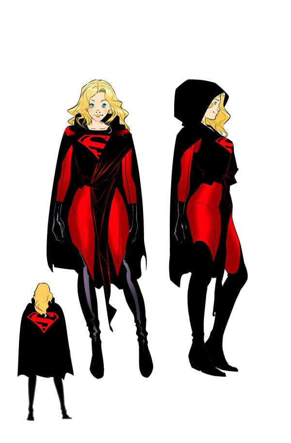 Marc Andreyko and Kevin Maguire Revive Supergirl in August; Plus: 4 New Costumes