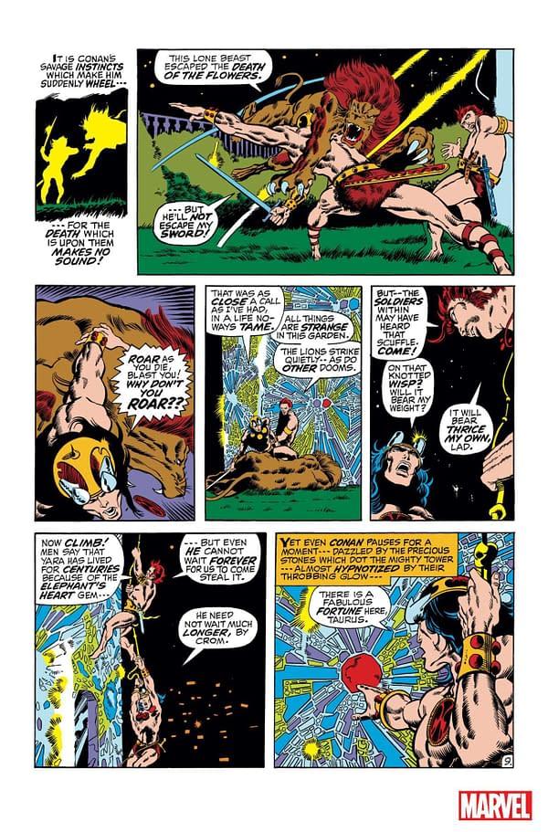 Dark Horse Liquidates Conan Collections as Marvel Publishes Omnibus in 2019