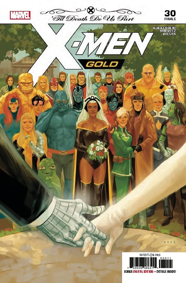 Cover to X-Men Gold #31 Revealed – is it a Wedding Spoiler?