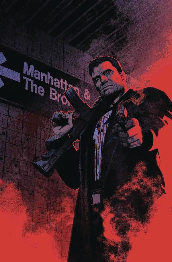 Szymon Kudranski Replaces Riccardo Burchielli on Punisher #1?