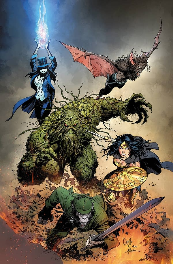 DC Comics Covers from Jim Lee, Greg Capullo, Fernando Pasarin, Francis Manapul, and Eddy Barrows