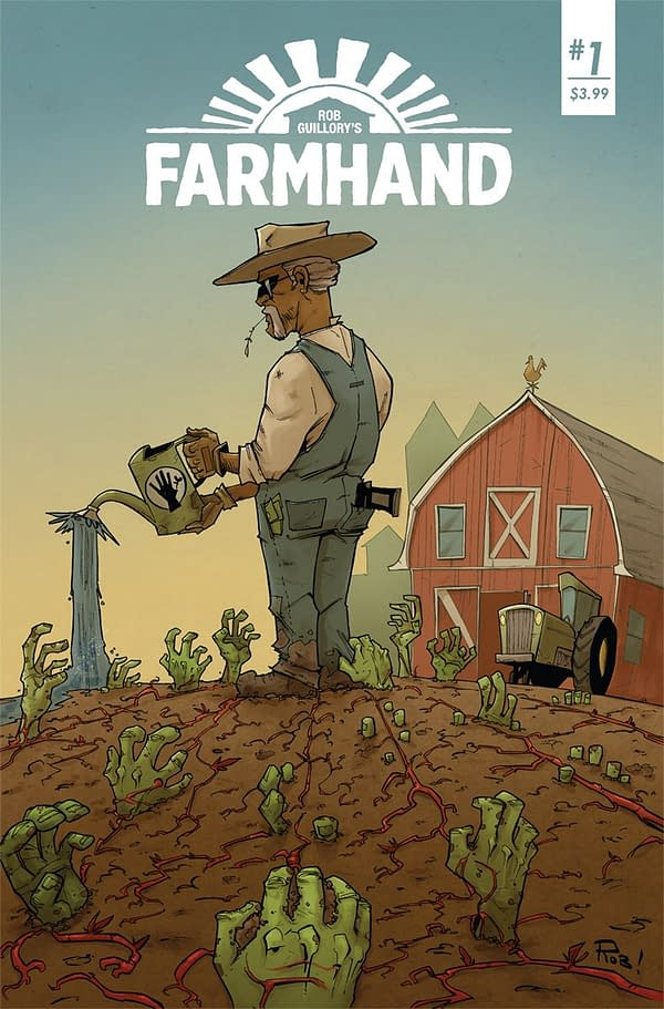 Farmhand #1 cover by Rob Guillory