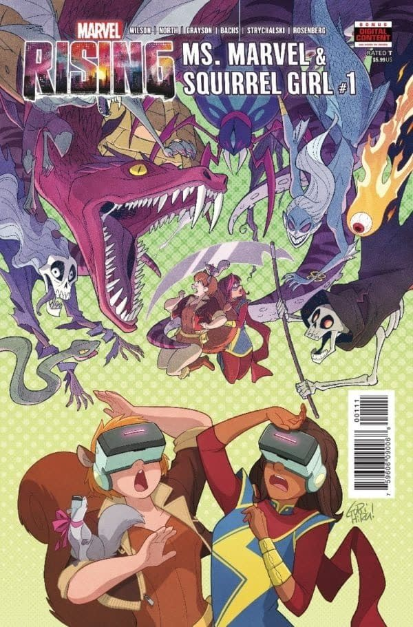 Tomorrow's Ms. Marvel/Squirrel Girl #1 Will Be Missing a Page