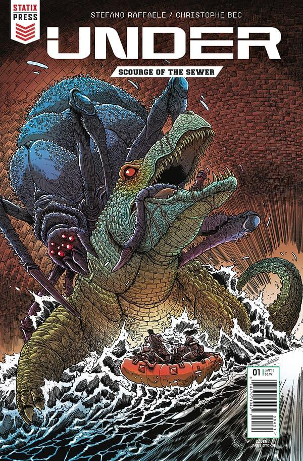 The World's Best Comics: Statix Press at SDCC 2018
