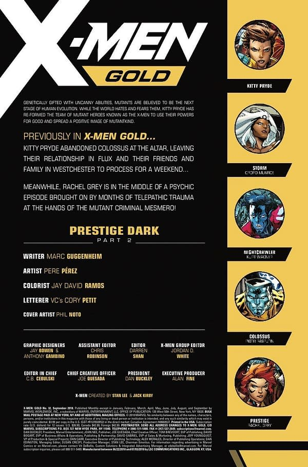 5 Previews for X-Men Comics Hitting Stores on July 18th