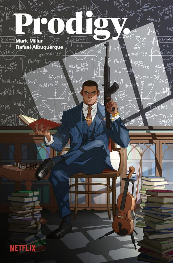 Prodigy: Mark Millar and Rafael Albuquerque Team Up for New Netflix Comic