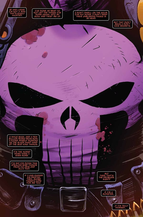 Cosmic Ghost Rider Makes Thanos the Image of Himself