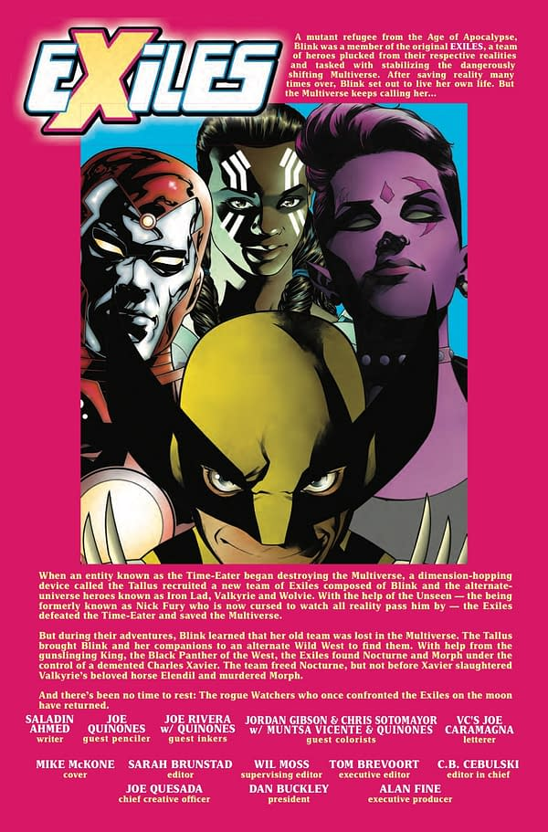Previews of All of This Week's X-Men Comics, All in One Place [9-12-2018]
