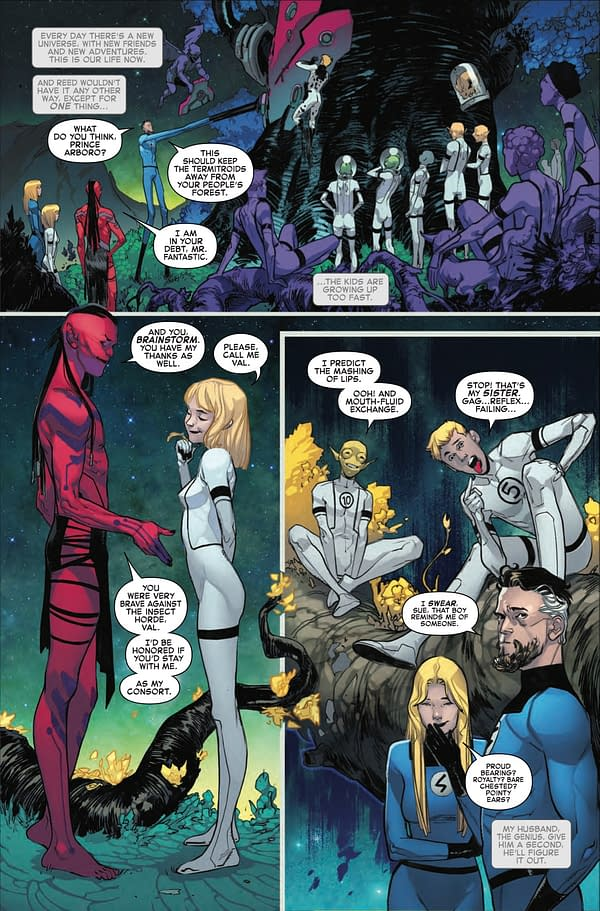Addressing the Veracity of Namor/Sue Fanfic in Fantastic Four #2
