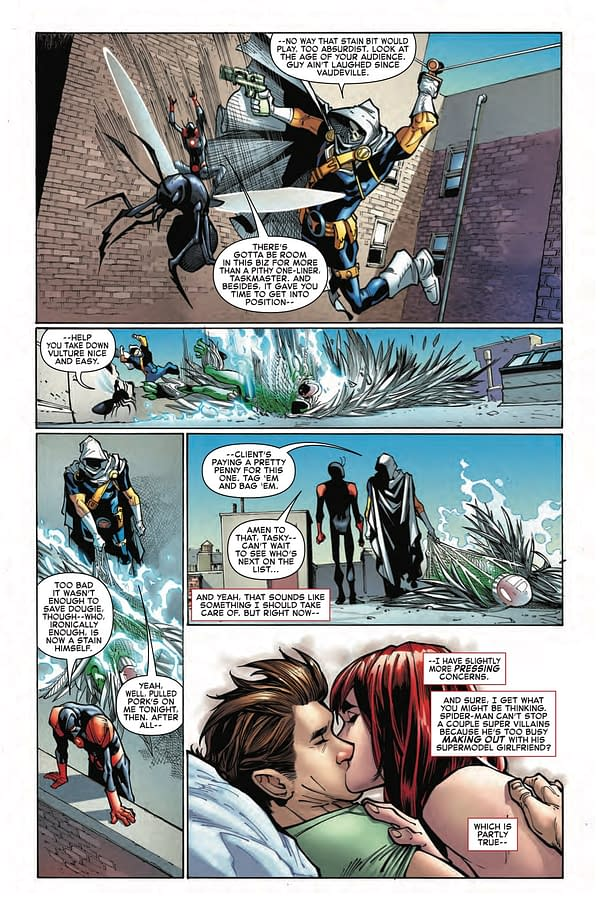 With Great Power Comes… A Makeout Session With Mary Jane?! Amazing Spider-Man #6 Preview