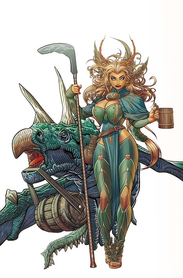 Dark Horse Partners With Ninkasi Brewing Company for Custom Comic About Beer Goddess