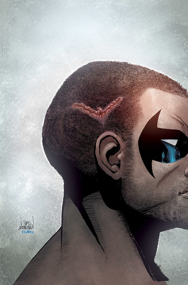 Benjamin Percy Off Nightwing Already?