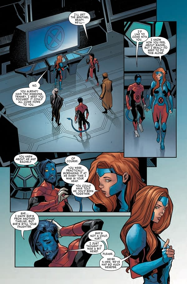 Jean Grey Gets Weird With Nightcrawler in X-Men Red #9 Preview