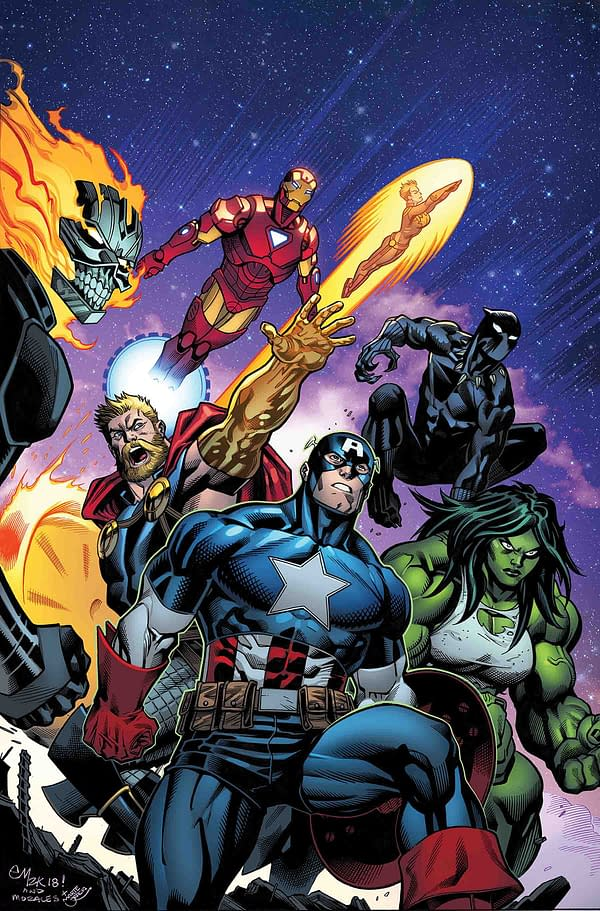 Andrea Sorrentino Joins Artistic Lineup for Avengers #700