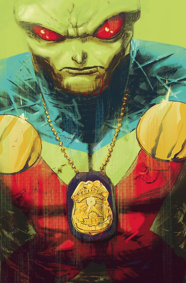 First Look Inside Steve Orlando and Riley Rossmo's Martian Manhunter #1 – and a Batman: Damned Dick Joke