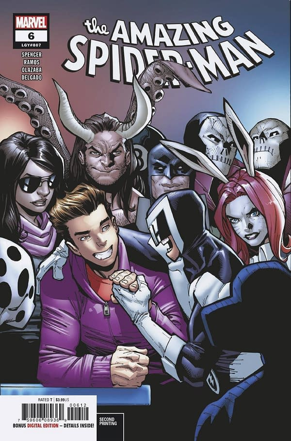Marvel Comics Send Spider-Geddon #1 Back to Print