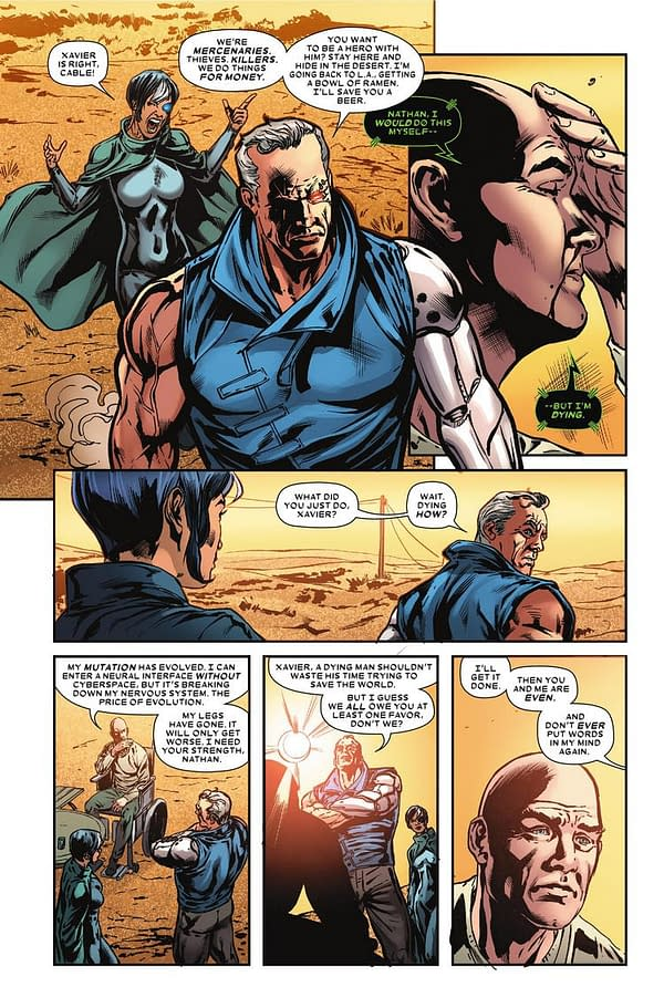 Professor X is Dying… Again! A What If? X-Men Preview