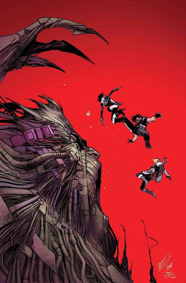 Ahab Still Exterminating Mutants in February's X-Force #3