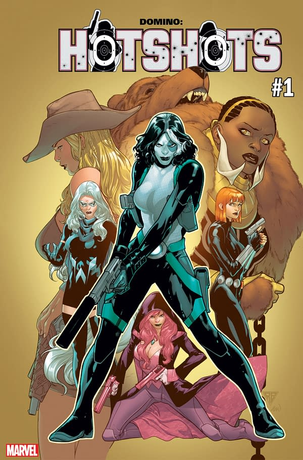 Simone and Baldeon's Domino Relaunched as Domino: Hotshots Mini-Series in March