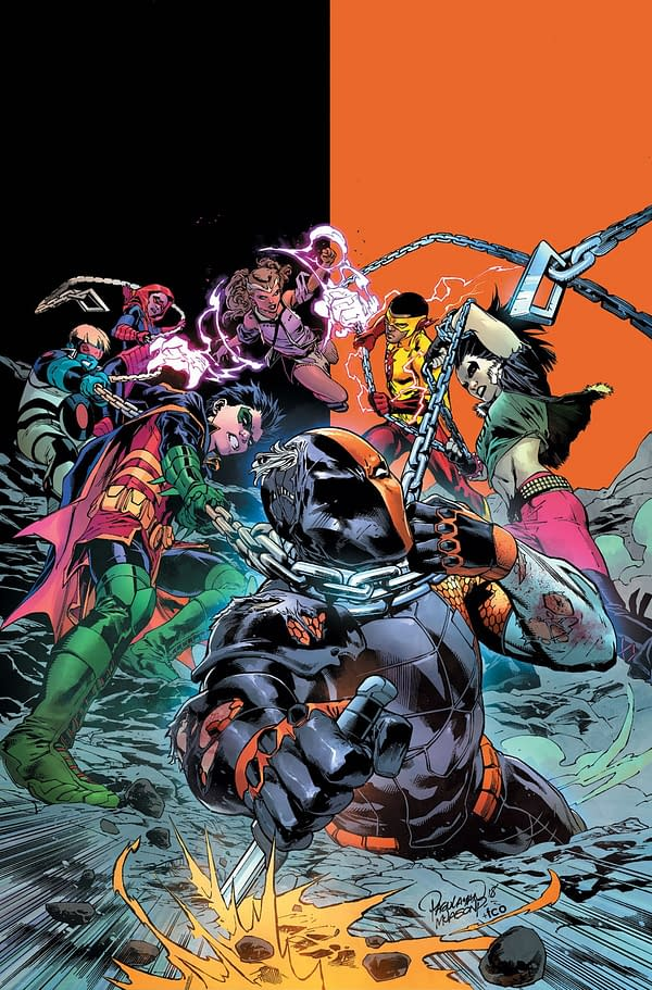 Deathstroke and Teen Titans Crossover in March for The Terminus Agenda