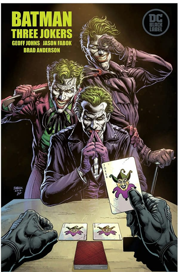 Jason Fabok Almost Done With The Three Jokers Book One