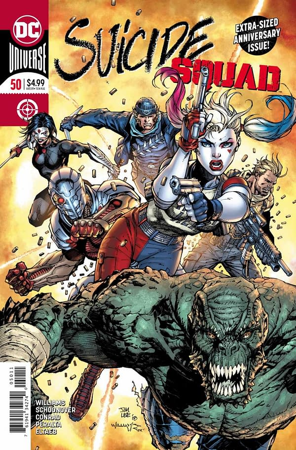 Preview: Will Suicide Squad #50 Finally Expose the Existence of Task Force X to the World?