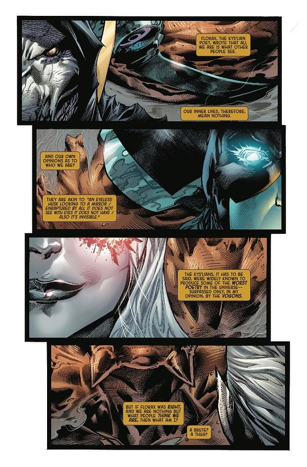 Come for the Slaughter, Stay for the Literary Criticism in Next Week's Black Order #3