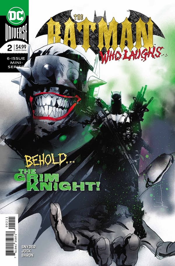 So Where Does Bruce Wayne Stand on MMR Jabs Then? The Batman Who Laughs #2 Preview