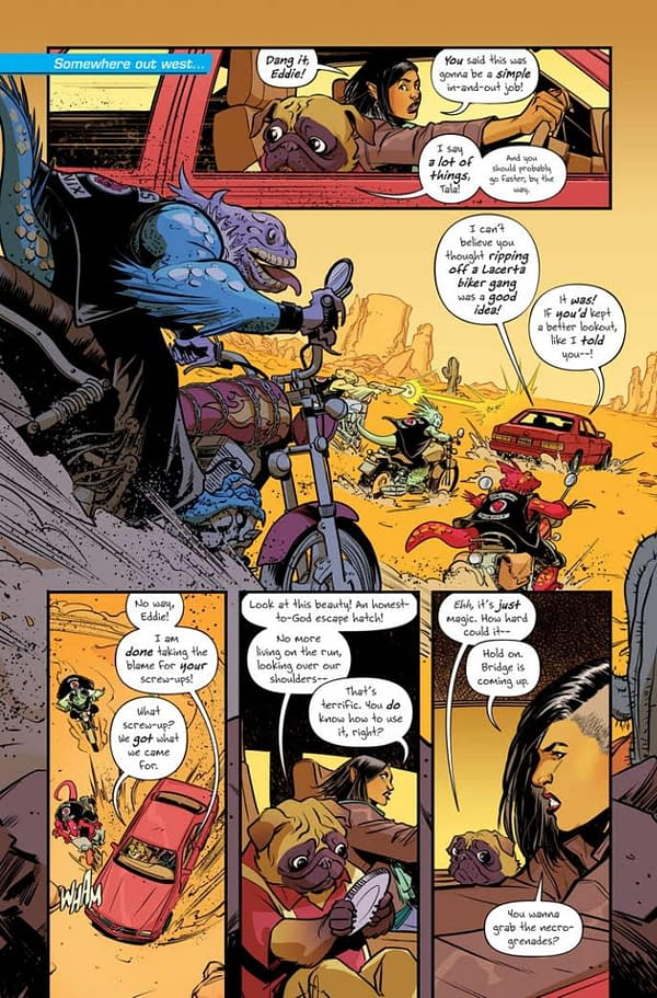 Eric Powell Publishes Grumble Vs The Goon in This Free Comic Book Day 2019 Preview