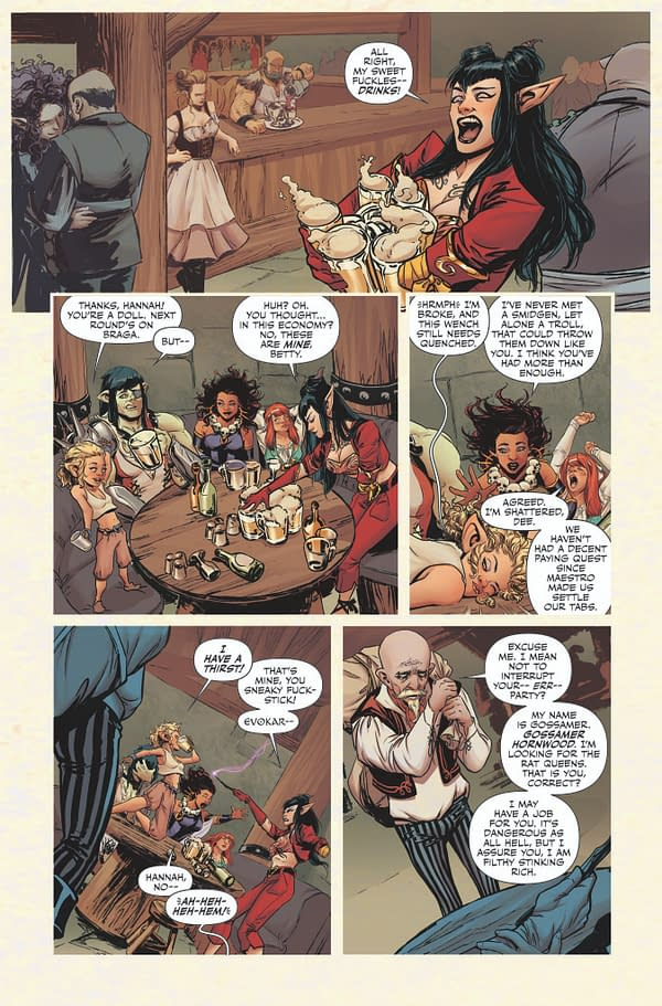 Kurtis J Wiebe Quits Rat Queens, Gets New Creative Team, Forms New Company