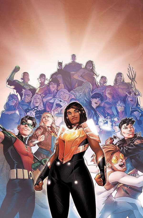 Naomi #6 Cover Teases Young Justice Team-Up, Fresh DCU Perspective