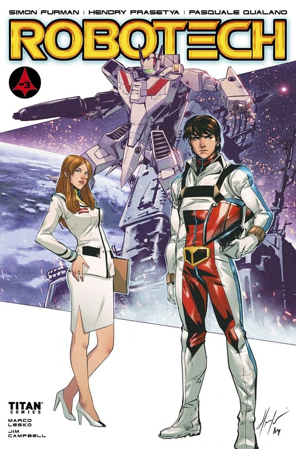 'Robotech' #18 Hints that there's Something Else to Minmei (REVIEW)