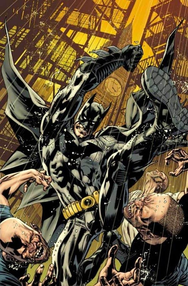 Has Bryan Hitch Been Drawing Warren Ellis' Batman For 18 Months?