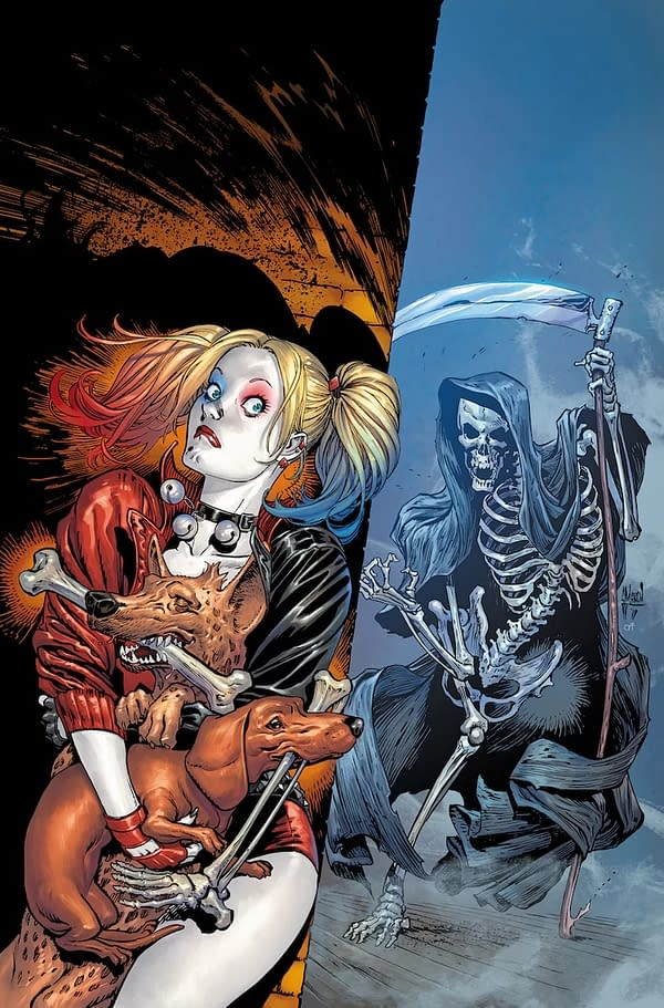 Which Side of Year of the Villain is Harley Quinn on Anyway?