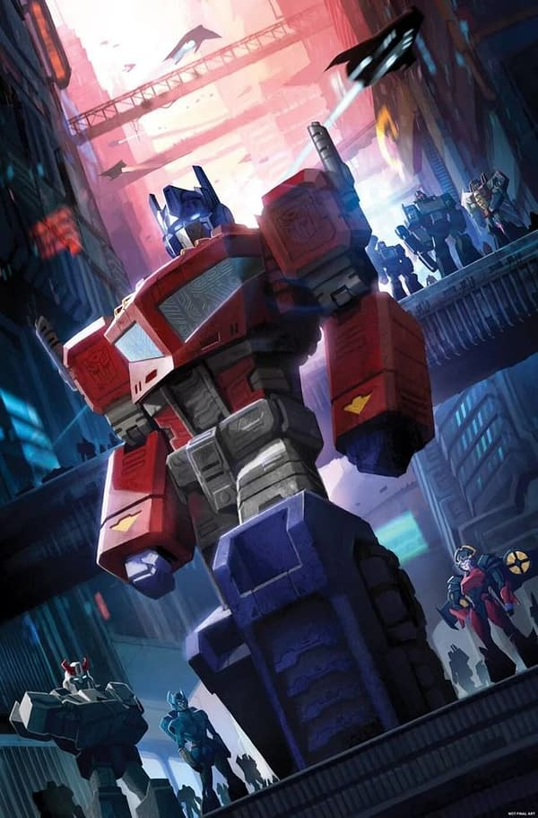 Transformers Comic Will Debut New Character in Issue #4- Who is it?