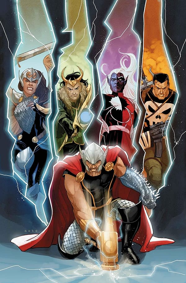 Thor to Be Missing After War of the Realms For Jason Aaron's Final Story