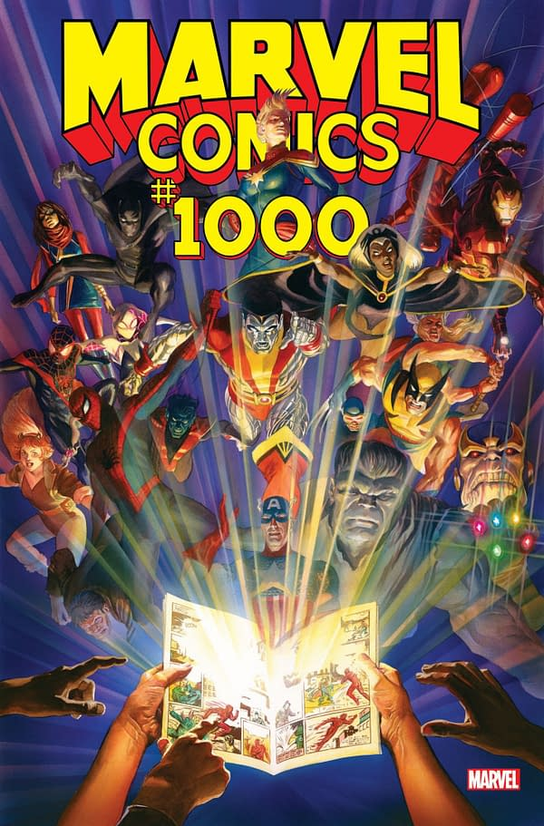 TOLDJA: Marvel Comics #1000