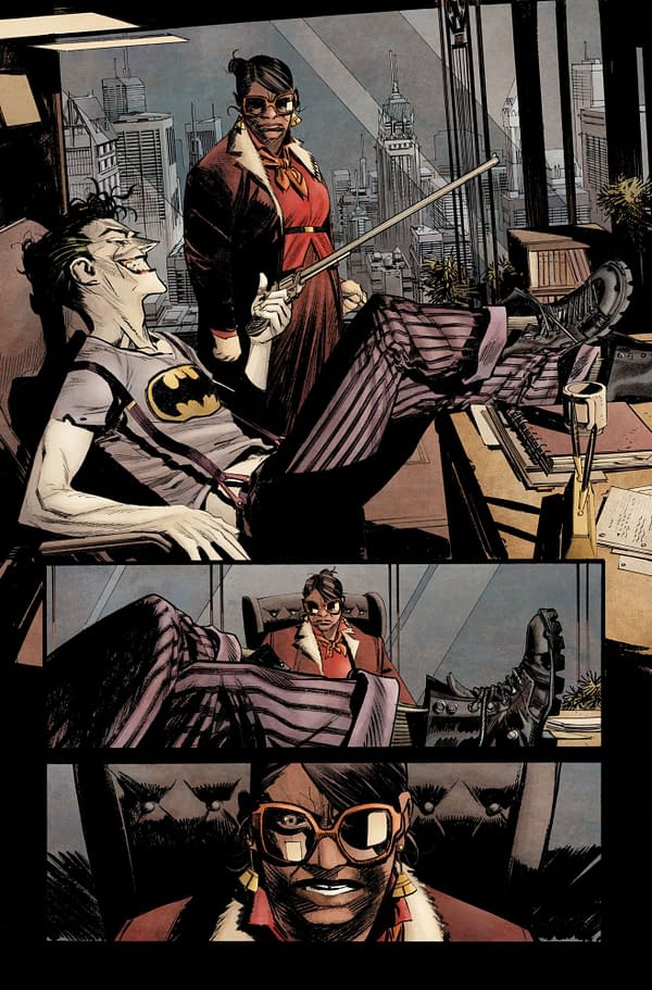 Lettered Preview: Sean Murphy's Batman: Curse Of The White Knight #1 – Where's The Joker???